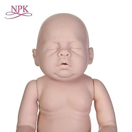 Amazon.com: Muñecas de renacimiento, NPK sin pintar, juego ...