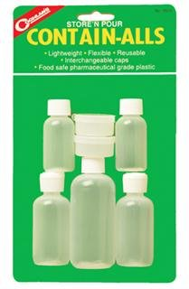 Coghlan's 8525 Store and Pour Contain-Alls Plastic Containers, Outdoor Stuffs