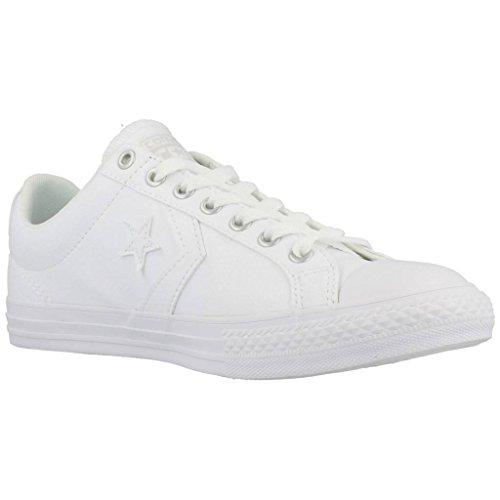 Calzado deportivo para mujer, color Blanco , marca CONVERSE, modelo Calzado Deportivo Para Mujer CONVERSE STAS PLAYER EV White