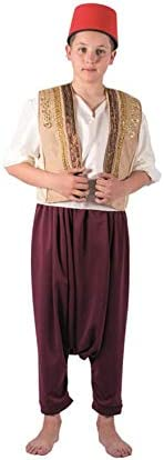 Creaciones Llopis Disfraz de Moro Said para niño: Amazon.es ...