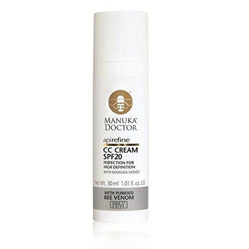 20 30ミリリットルとマヌカドクターリファインクリーム x2 - Manuka Doctor Api Refine CC Cream with SPF20 30ml (Pack of 2) [並行輸入品]   B07116XHGY