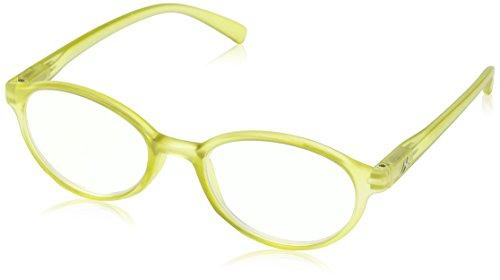 Montana Strength Plus 3.50 Green Round Frame Reading Glasses (Sunoptic Frames)