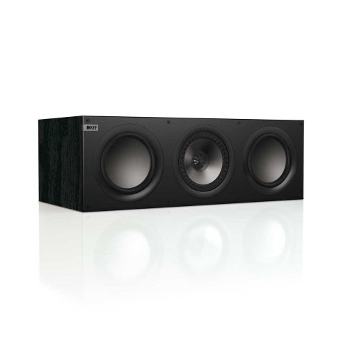KEF Q600C Center Channel Loudspeaker - Black OAK (Single)