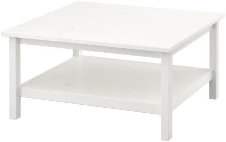 Ikea Hemnes Coffee Table White Stain White 90x90 Cm