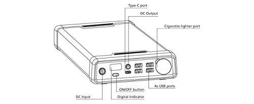 289wh polaroid ps300 portable power supply everywhere