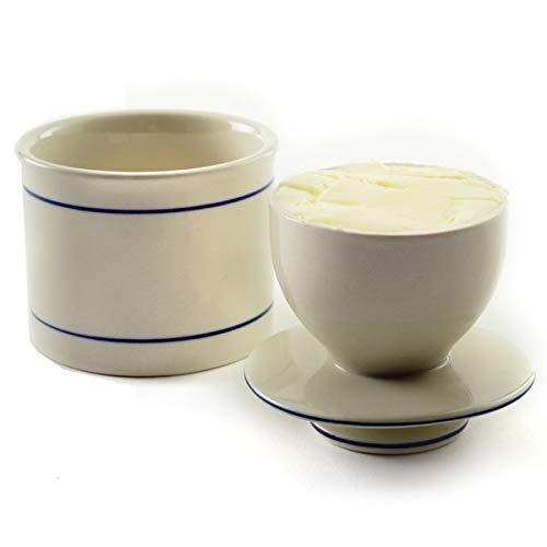 (French Butter Keeper, Original Butter Crock Butter Keeper)