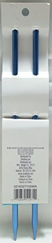 Boye 10-Inch Aluminum Single Point Knitting Needles, Size 10-1/2