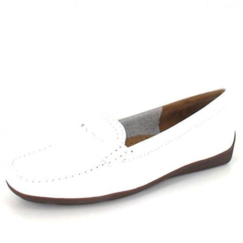Wirth Mocassin Albany, Couleur: Blanc Blanc
