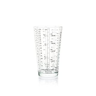 KitchenCraft Glass Measuring Cup for Wet / Dry Ingredients, 425 ml