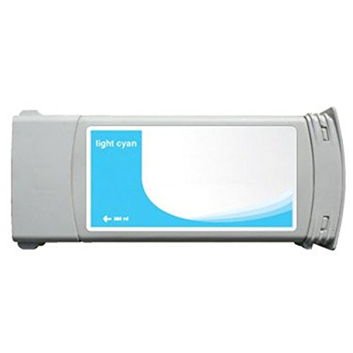 - 3x G&G Light Cyan Ink Cartridge Reman C4934A Compatible with HP Designjet 5000/5500