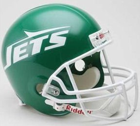Riddell NFL New York Jets Helmet Full Size Replica, One Size, Team Color