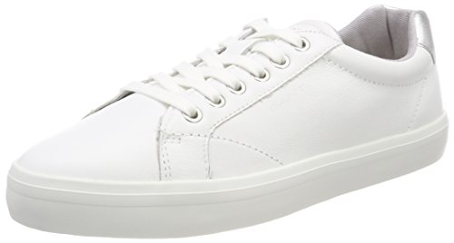 Gant Women's Mary Trainers Weiß (Bright Wht./Silver) c9BY7O