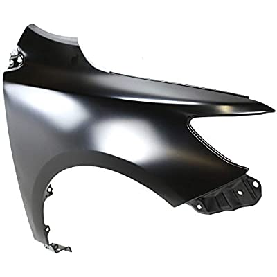 Front Fender Compatible with 2009-2013 Toyota Corolla Steel Japan Built Passenger Side: Automotive