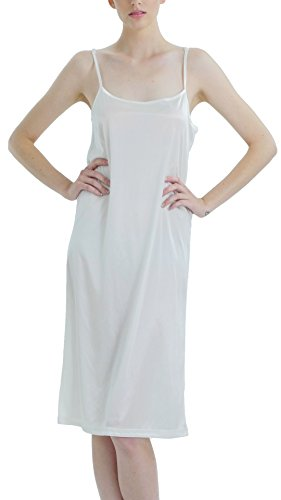 Melody [Shop Lev] Women Basic Satin Full Slip Chemise