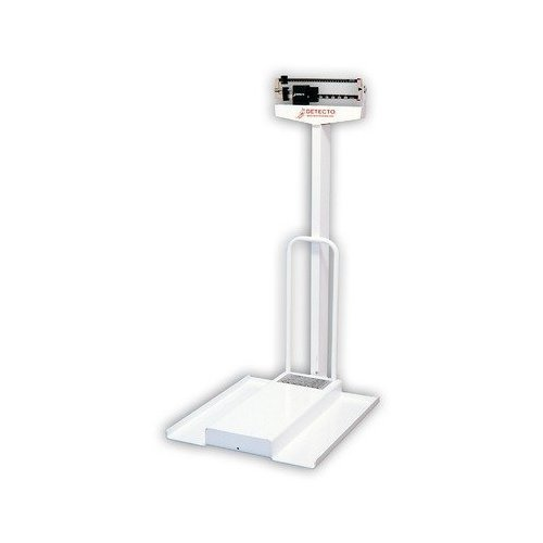 Detecto Scales Mechanical Wheelchair Scale Capacity: 350 ...