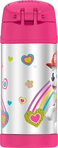 Termo Funtainer Botella de 12 onzas, Paw Patrol Pink