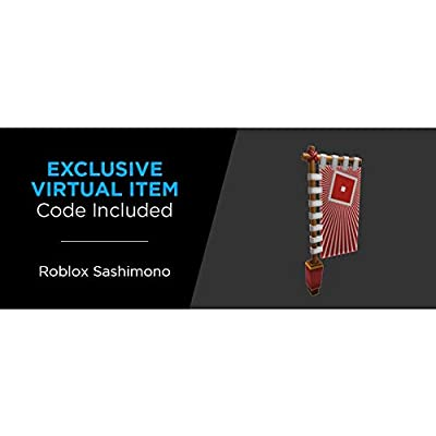 Roblox Celebrity Collection - Heroes of Robloxia: Ember & Midnight Shogun Game Pack [Includes Exclusive Virtual Item]: Toys & Games