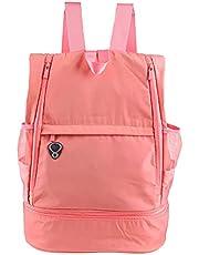 Catuy Travel Laptop Backpack with USB Charging Port Business Work Backpacks School Computer Bookbag for Women & Men Students