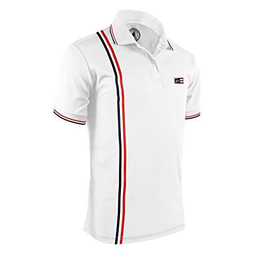 Albert Morris Short Sleeve Honors Polo Shirt for Men, Small, Single Pack