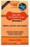 Mai Wei Di Huang Wan, 200 ct, Min Shan