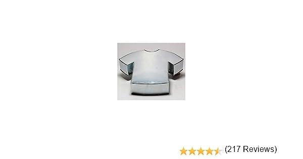 Euro Tins Molde Especial para Tartas en Forma de Camiseta DE FÚTBOL - Fiesta de cumpleaños Infantil - 28 x 35 cm: Amazon.es: Hogar