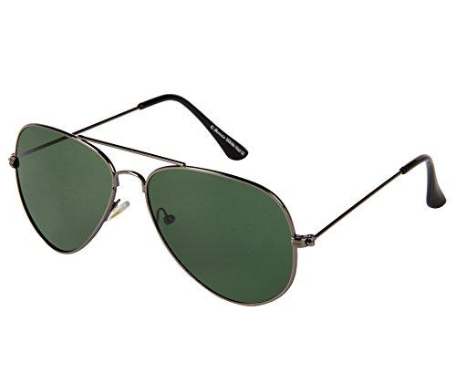 Cristiano Ronnie Classic Grey Aviator Sunglasses