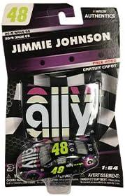 [해외]2019 Jimmie Johnson 48 Ally Paint Scheme 164 1:64 Scale Diecast NASCAR Authentics Wave 5 / 2019 Jimmie Johnson 48 Ally Paint Scheme 164 1:64 Scale Diecast NASCAR Authentics Wave 5