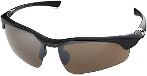 Sundog Flight 481013 Sunglasses, Matte Black Frame/Brown - Sundog Sunglasses