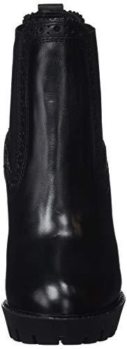 Vernon 999 Nero black Chelsea Pepe Donna Jeans Stivaletti zfvx5w08q