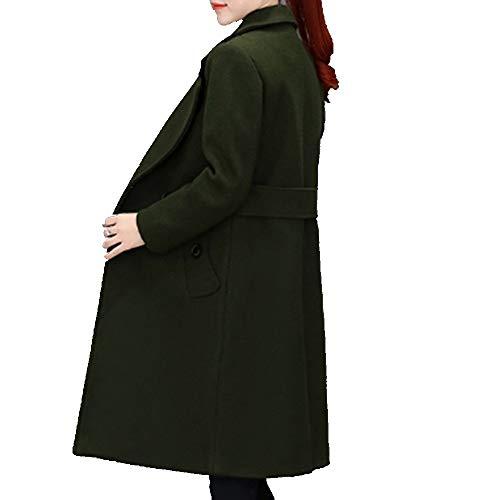 Casual Cappotti Ysfu Outwear Trench Warm Autunno Jacket E Dress Lunghi Donna Cappotto Da Ladies Top Soft Inverno In Felpa Fashion SZfdwZqx