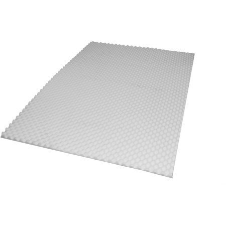"""Price comparison product image Mainstays 1 / 2"""" Foam Mattress Pad,  Cut to Fit"""