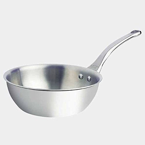 DeBuyer Affinity 3.17-Quart Rounded Saute-pan, Stainless Steel by De Buyer