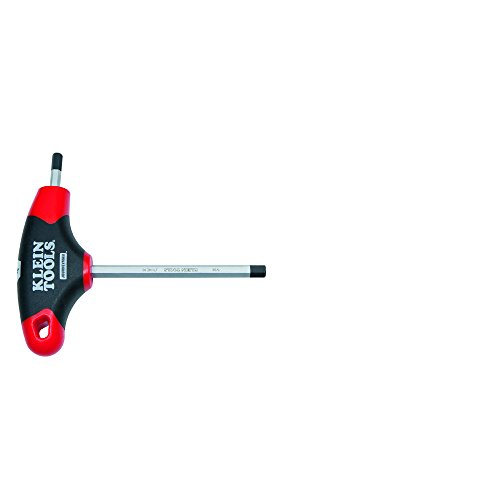 5/32-Inch Hex Key with Journeyman T-Handle, 4-Inch Klein Tools JTH4E10 (5 32 T Handle Allen Wrench)