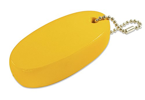 (Lucky Line Soft Key Float with Ball Chain, 1 per Card, Yellow (92801) )