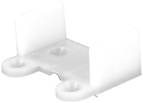 Prime-Line Products N 6565 Bypass Door Guide, Nylon, Bottom ()