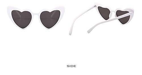 Sunglasses Sun Glasses C4 Pink Lens Sexy 9218 Accessories White Eyewear Clear PinkGray Women Heart Black Gray Fygrend Vintage For Shape Woman New C7 gtSUPS