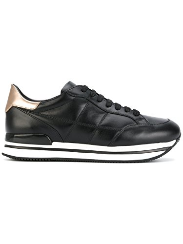 Hogan Ladies Hxw2220j060gga415h Sneakers In Pelle Nera