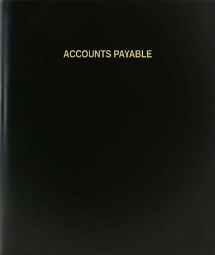 Accounts Payable Journals (BookFactory® Accounts Payable Log Book / Journal / Logbook - 120 Page, 8.5