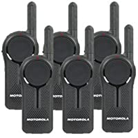 6 Pack of Motorola DLR1020 Walkie Talkie Radios