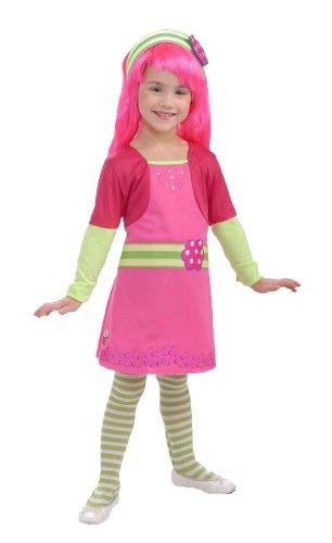 Raspberry Girl Costume (Rubies Strawberry Shortcake and Friends Raspberry Tart Costume, Small)
