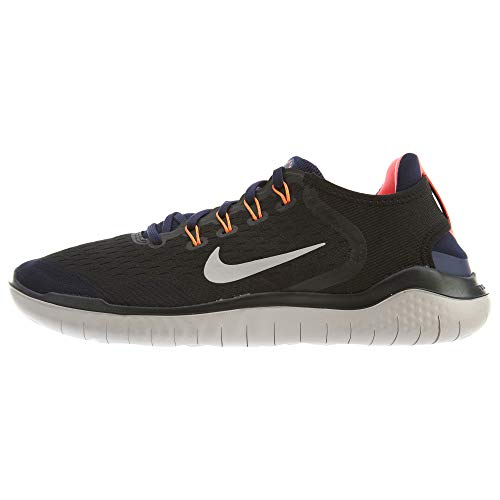 - Nike Men's Air Free Run 2018 Running Shoe Black/Moon Particle-Blackened Blue 7.5