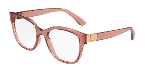 (Dolce&Gabbana DG5040 Eyeglass Frames 3148-54 - Transparent Pink DG5040-3148-54)