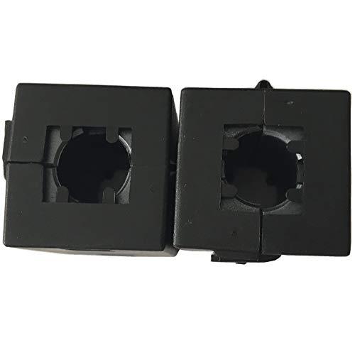 Maslin Inner 10mm 0.39''Cable Wires Noise Cancel ferrite core EMI Filter ferrite Ring RF Choke ferrite Bead,50pcs/lot