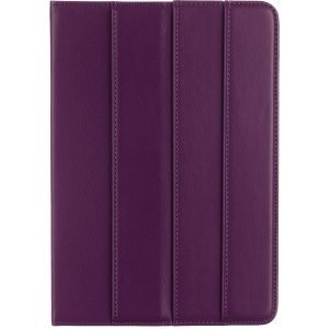 M-EDGE M-Edge Incline Carrying Case for iPad mini - Purple<br>INCLINE PURPLE CASE FOR IPAD MINI<br>Microfiber Leather