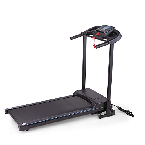 Sandinrayli Folding Treadmill Fitness Machine Gym & Home Electric Motorized Power Treadmill 700W