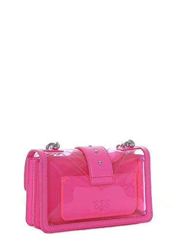 in rosa Pinko a 1p21cwy5ezq44 Woman Borsa tracolla pvc frrXKp