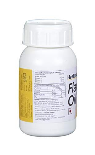 HealthAid Flaxseed Oil 1000mg (Omega 3.6.9) - 60 Capsules