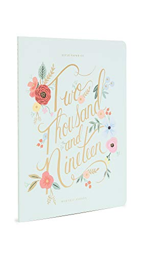 Rifle Paper Co Women's 2019 Appointment Notebook, Multi, One Size