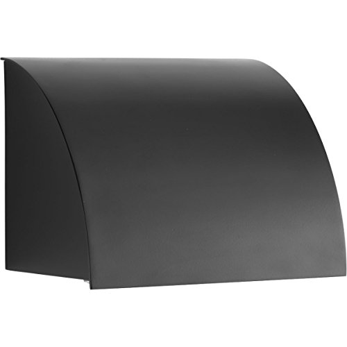 HomeStyle HS77021-31 1-Light Cfl Outdoor Wall Sconce, Black, Black