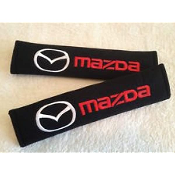 Auto Interior Modeling Accessories for Mazda Mx5 Protection Shoulders Comfort Padding Guard Safety Clip N//A 2pcs Car Seat Belt Cover Shoulder Pads